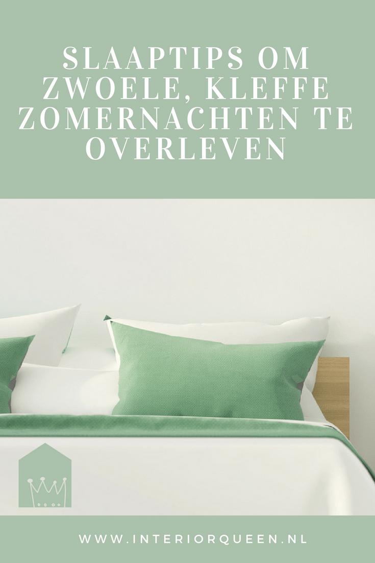 Zo overleef je zwoele en warme zomernachten | Slaaptips interiorqueen.nl